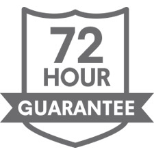 72 Hour Guarantee